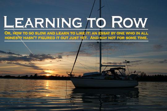 rowing photo essay